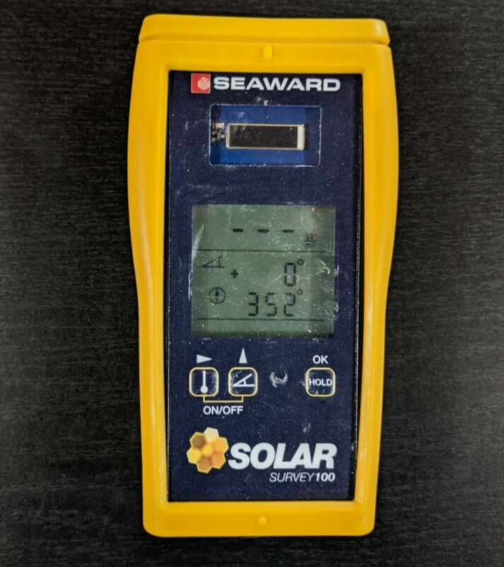 Seaward Solar Survey 100 Irradiance Meter - Tested, Cleaned, & Sanitized