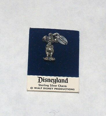 VINTAGE WALT DISNEY PRODUCTIONS STERLING SILVER CHARM MICKEY MOUSE DISNEYLAND
