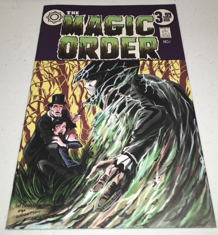 The Magic Order #1 Port City Comics Variant Netflix Josh Brannan Anna Zhuo