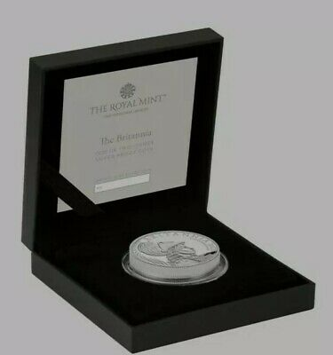 The Britannia 2021 Premium Executive 2oz silver proof coin Mintage 550 SOLD OUT
