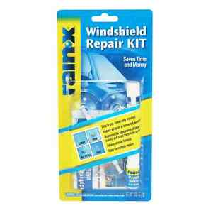 Rain X Windshield Repair Kit Crack DIY Auto Glass Wind Screen Chips & Cracks