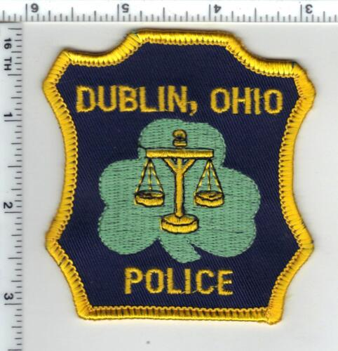 Dublin Police (Ohio) Shoulder Patch from the 1980