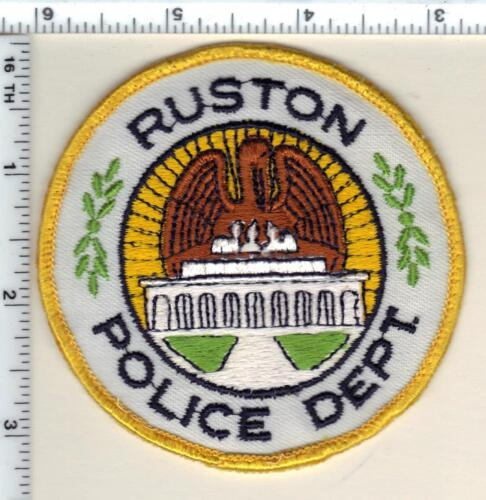 Ruston Police (Louisiana) uniform take-off patch  from 1992