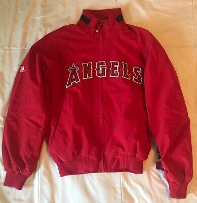 New LA Angels Windbreaker Jacket women Small Majestic Therma Base MLB baseball