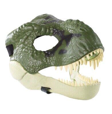 NEW Jurassic World T-REX TYRANNOSAURUS Mask Legacy HALLOWEEN COSTUME Dino Rivals