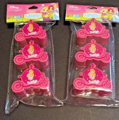 Princess Easter Eggs (Disney Princess Cinderella Easter Birthday Party Treat Containers Eggs 6 Count)