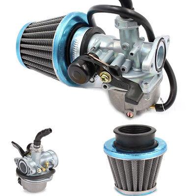50cc 70cc 90cc 110cc ATV Dirt Bike Go Kart Carburetor with Air Filter Gasket