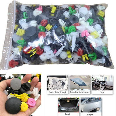 400PC Mixed Car Bumper Clips Retainer Fastener SUV Rivet Door Panel Fender Line! for sale  Canada