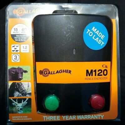 Gallagher B60 12v Battery Energiser SEVEN YEAR warranty Electric Fencing