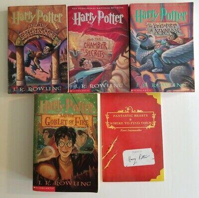Harry Potter J. K. Rowling Book Lot