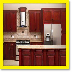 All solid wood kitchen cabinets cherryville 10x10 rta for Kitchen cabinets 10x10