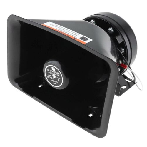 Federal Siren Speaker, Brand New. 100 Watt Power Rated for any Siren or P.A. Amp