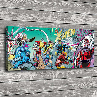 X-men Comics Wolverine Home Decor Room HD Canvas Print Picture Wall Art (Wolverine Pictures X-men)
