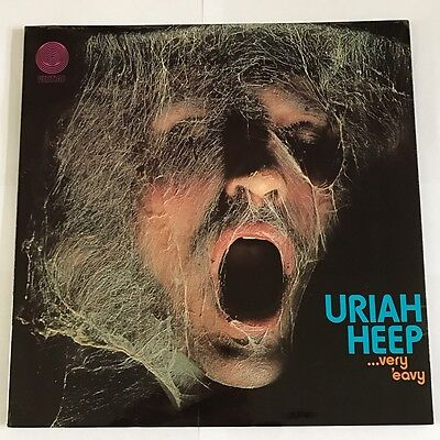 Uriah Heep : Very Eavy Umber Vertigo Swirl 1970 1st Press Ex !!