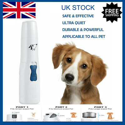 Electric Dog Pet Nail Grinder Premium Pet Nail Claw Paw Toe Clipper Trimmer