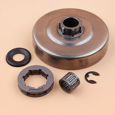 Clutch Drum Sprocket 3/8Rim Washer Kit For Husqvarna 365 362 371 372 XP Chainsaw