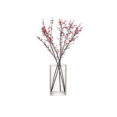 LSA Flower Rectangular Bunch Vase 32cm - Clear ()