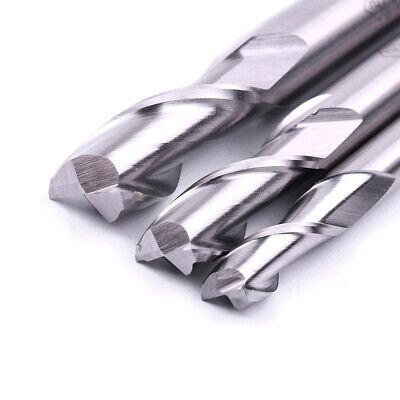 3pcset 6-10mm 2 Flute Spiral Router Carbide End Mill Cutter Cnc Drill Bit Tool