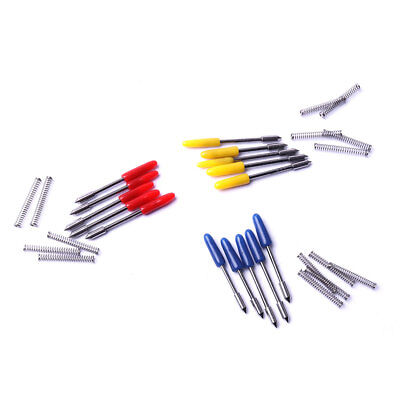 15 Pcs Hkatops 30 45 60 Degree Cutting Blades For Mimaki Plotter Vinyl Cutter