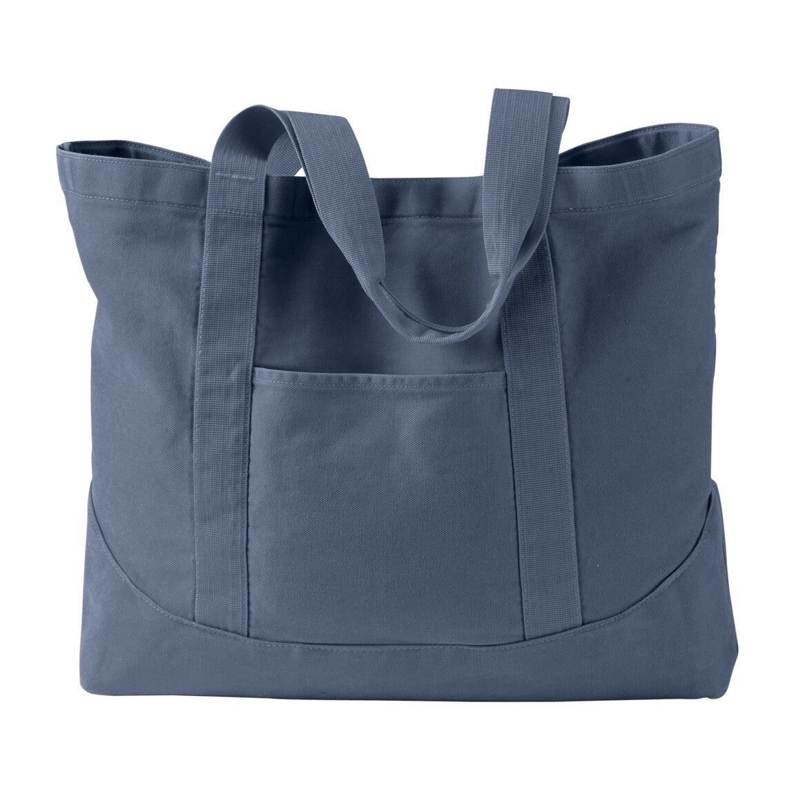 14 Oz 100 Cotton Canvas Heavy Enzyme Washed Self Fabric Handles Large Open Main Compartment With Snap Closure Inside Hanging Zippered Pocket