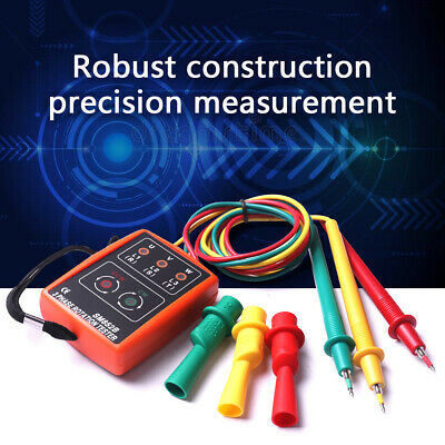 Three Phase Rotation Motor Sequence Meter Tester Indicator 20 Hz 400 Hz