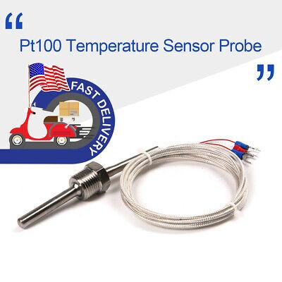 1pcs Probe Temperature Sensor Head K Type Thermocouple Probe 12 Thread