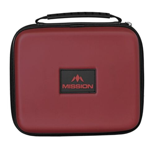 Mission Freedom Luxor Extra Large Dart Case - Holds 4 Sets Darts - Red