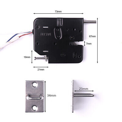 Iron 2a Dc12v Secure Electric Electronic Sensor Lock Door Release Rim Mortice