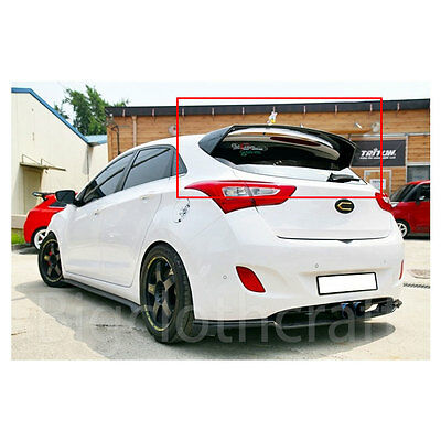 new rear wing roof spoiler frp unpainted ver1 for hyundai. Black Bedroom Furniture Sets. Home Design Ideas