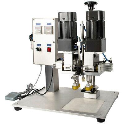 Yl-p Semi Automatic Piston Desktop Screw Lid Capping Machine For Plastic Bottle