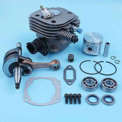 Piston Cylinder Crankshaft Kit for Husqvarna 362 365 371 372 372XP Chainsaw 50MM
