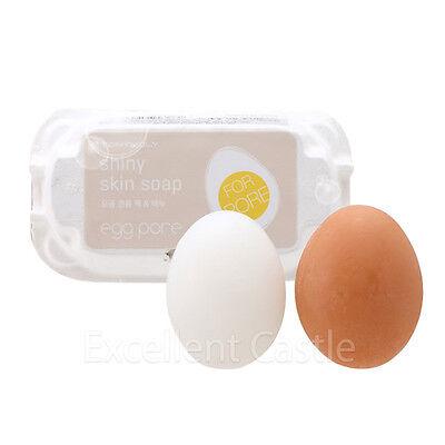 Tonymoly Original Egg Pore Shiny Skin Cleansing Soap 50g 2ea