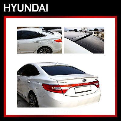 Rear Lip Trunk Spoiler PAINTED Y7S Silver For 2011-2015 Hyundai Azera HG
