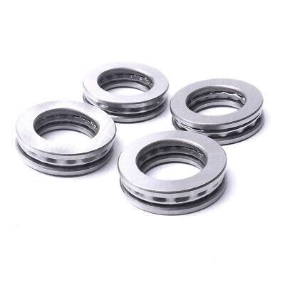 4x 51100 Bearing Steel Axial Ball Thrust Roller Bearing Three Parts 10249mm