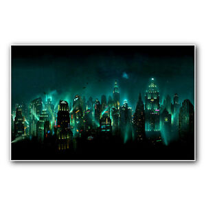 BIOSHOCK-RAPTURE-23-inch-wide-gaming-poster-print-or-canvas-from-xbox-ps2-360