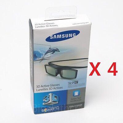 4x lot New Samsung SSG-5150GB 3D Active Glasses Shutter Glasses