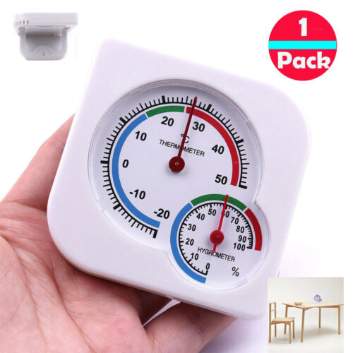 Indoor Analog Wet Temperature and Humidity Meter Thermometer Hygrometer