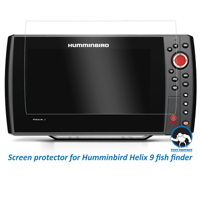 Tuff Protect Clear Screen Protectors for Humminbird Helix 9