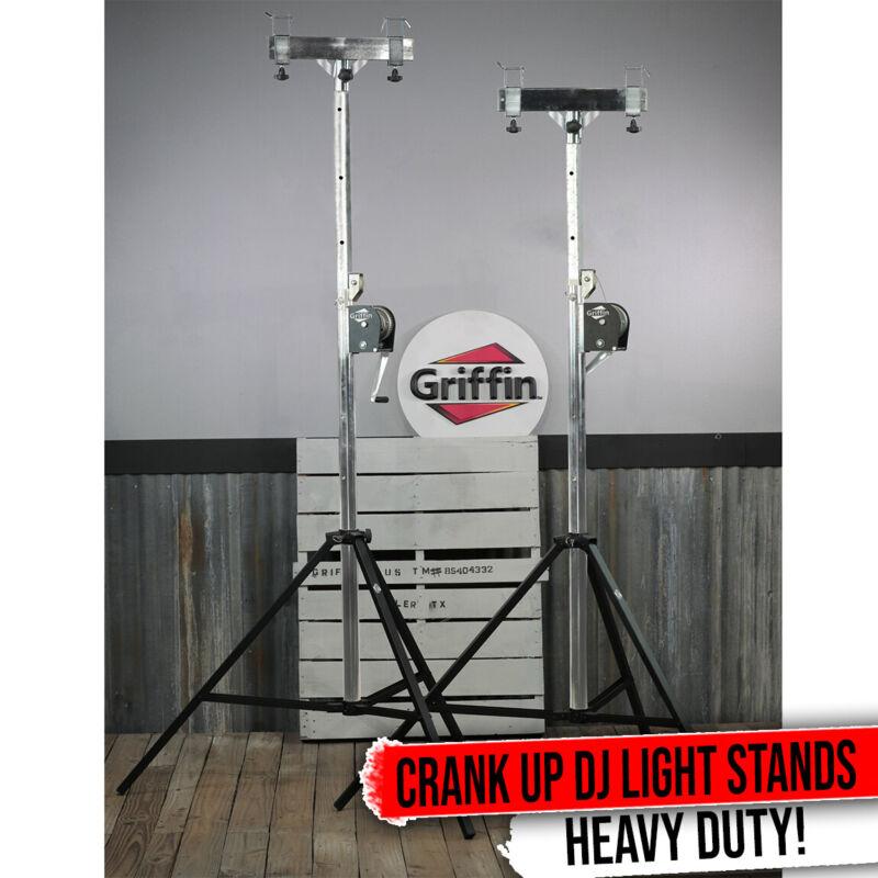 Crank Truss Lighting Stands T-Adapter Support Stage Light Mount Speaker DJ Booth