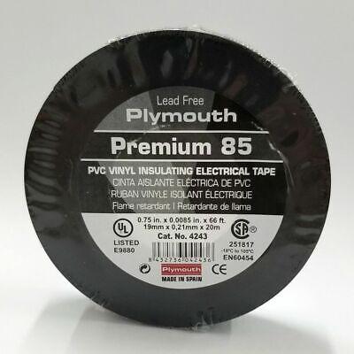 Plymouth Rubber Premium 85 Vinyl Insulating Tape