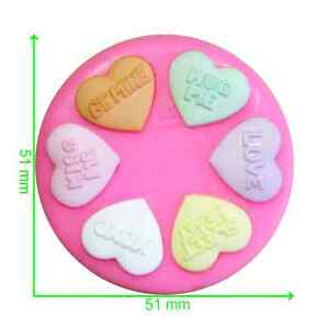 Love Hearts Sweets Mould by Fairie Blessings
