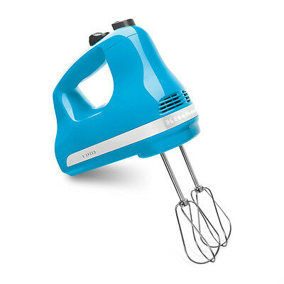 New KitchenAid Made in USA 5-Speed Ultra Power Hand Mixer kh