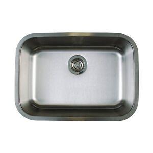 ... -441025-Stellar-Medium-1-Bowl-Stainless-Steel-Kitchen-Sink-BRAND-NEW