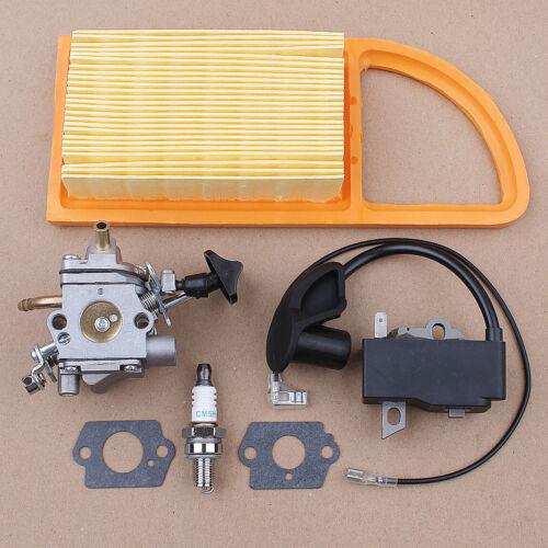 Ignition Coil Carburetor for Stihl BR600 BR500 BR550 Zama C1Q-S183 Leaf Blower