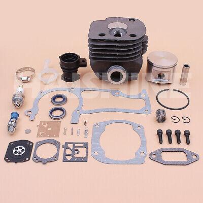 Big Bore Cylinder Piston Kit For Husqvarna 372 365 371 362 Chainsaw Gaskets 52mm