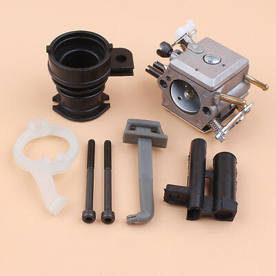 Carburetor Intake Kit Fit Husqvarna 365 362 372 371 372XP Walbro Carb HD-12 HD-6