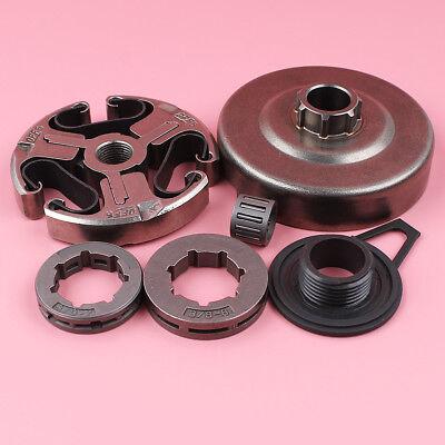 Clutch Drum Sproket Rim Kit For Husqvarna 362 365 371 372 XP Chainsaw #503744401