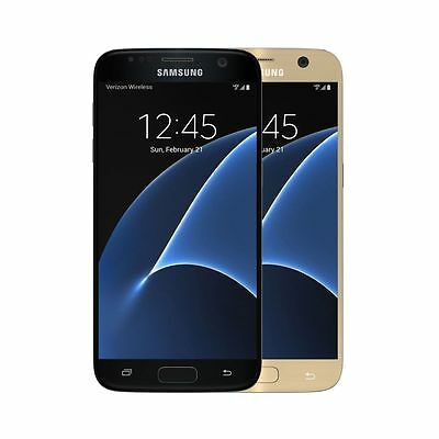 Samsung Galaxy S7 32GB Verizon / Straight Talk /  Black Gold - NEW IN BOX
