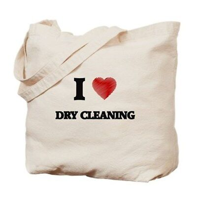 Cute Love Gift! Love Dry Cleaning Tote Canvas Bag See My Great Idea Below!