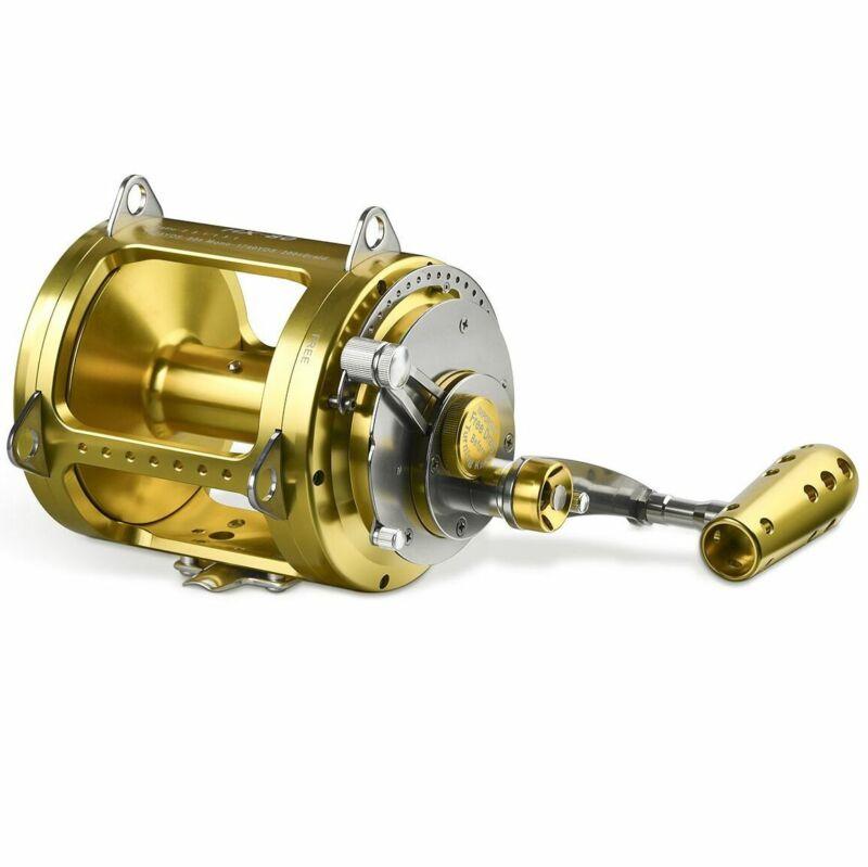 Gomexus Saltwater Trolling Reel 2 Speed Bluefin Yellowfin Tuna Game 30W to 80W